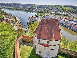 Veste Oberhaus 3-Flüsse Stadt Passau